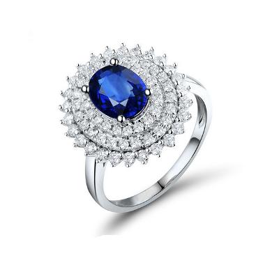 blue sapphire diamond engagement ring