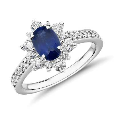 oval sapphire ring
