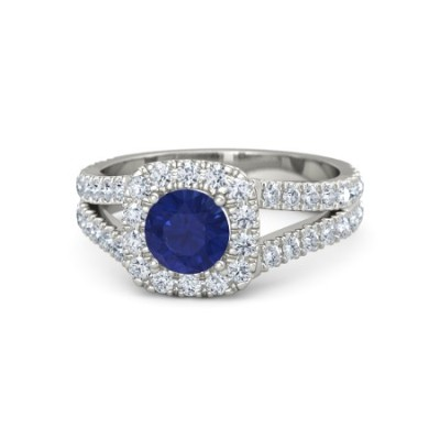fancy sapphire diamond ring