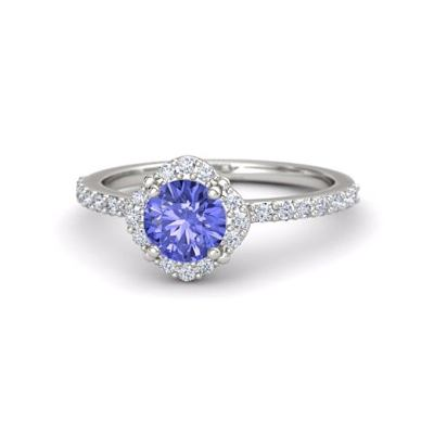 tanzanite diamond rings