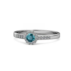 topaz diamond promise ring