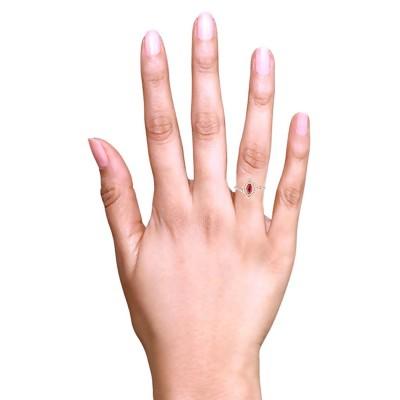 ruby diamond rings
