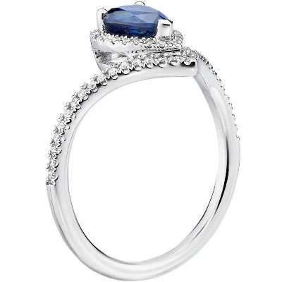 pear shaped sapphire diamond ringpear shaped sapphire diamond ring