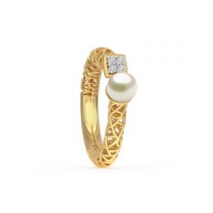 antique pearl diamond ring