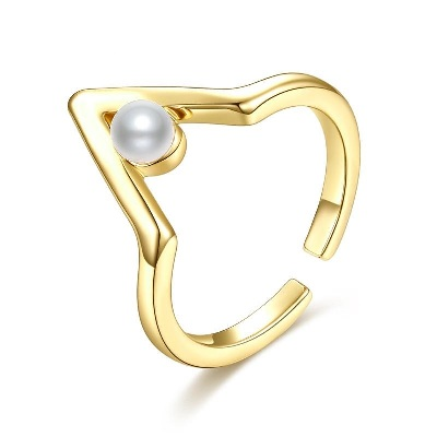pearl engagement ring for women