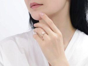 akoya pearl diamond ring