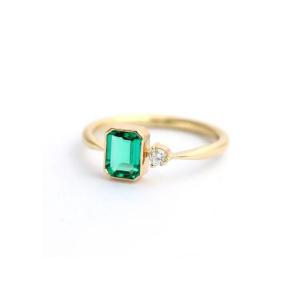 fancy emerald ring
