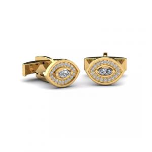 diamond mens cufflinks