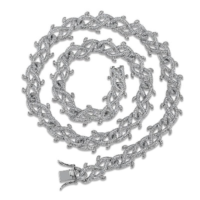 hip hop mens diamond necklaces