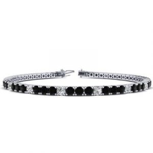 black diamonds tennis bracelet women's