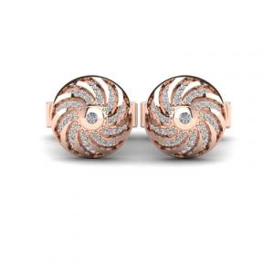 stylish diamond cufflinks