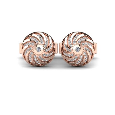 stylish diamond cufflinks