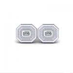 designer diamond cufflinks