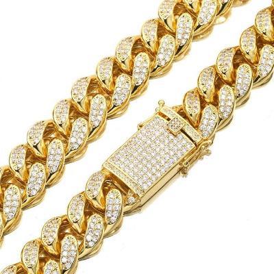 Cuban chain necklace men's