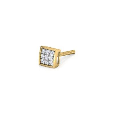 men's diamond earring