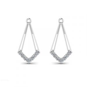 dangle diamond earring