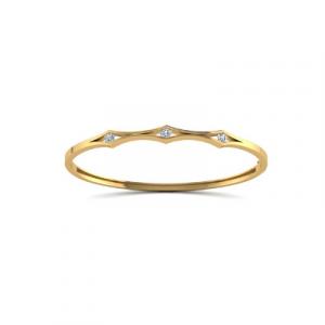 white diamonds bangle bracelet