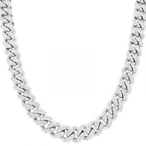 diamond hip hop necklace