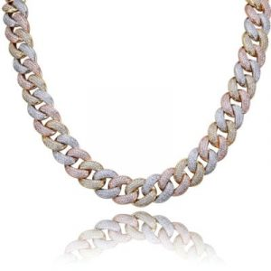 miami cuban link chain for men's