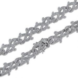 hip hop mens diamond necklaces