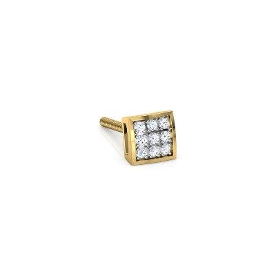 men's diamonds earring