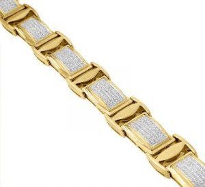 hip hop bracelet for mens