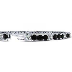 black diamonds tennis bracelet women's