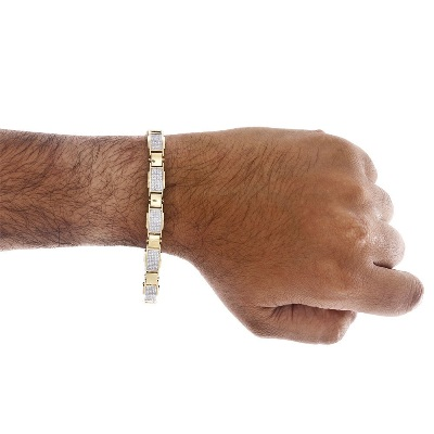 hip hop diamond bracelet