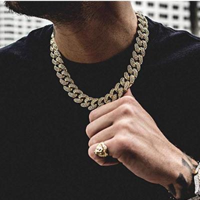 hip hop miami cuban link chain necklace