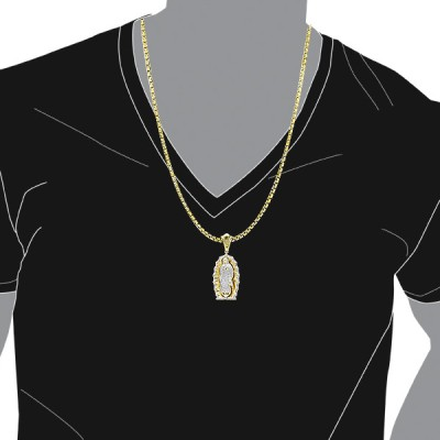 diamond hip hop pendants