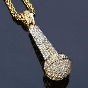 men hip hop pendants