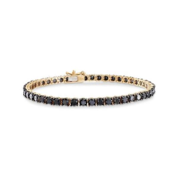black diamonds tennis bracelet
