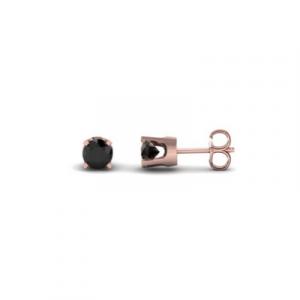 black diamonds stud earring