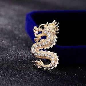 dragon brooch for mens