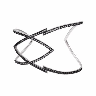 fancy black diamond bracelet
