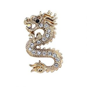 dragon brooch for mens