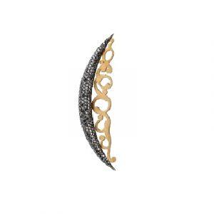 Black Diamond Brooch
