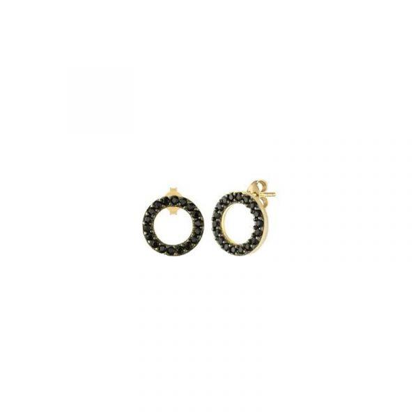 Circle Stud Earrings (2)