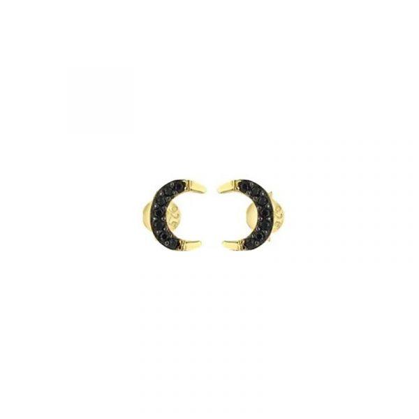 Moon Stud Earrings (2)