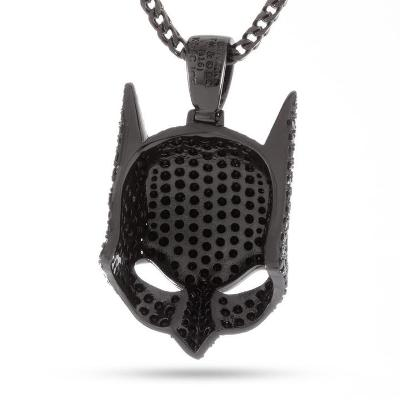 black diamond batman pendant