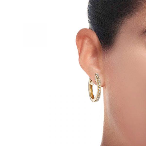 Small Huggie Hoop Earrings (1)