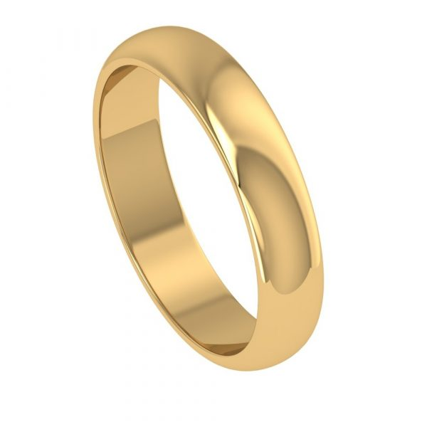 rose gold couple ring