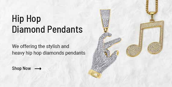 Hip Hop Diamond Pendants