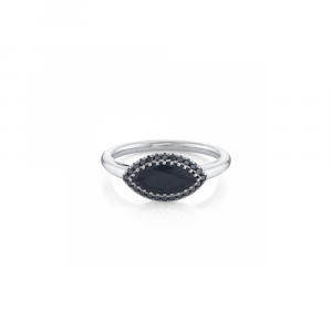 5ct big black diamond ring