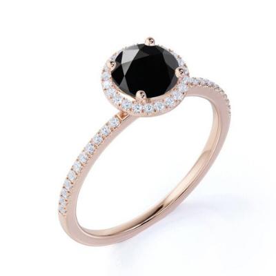 halo setting engagement rings