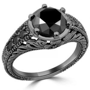 diamond vintage ring