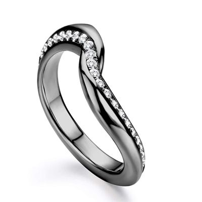 couple promise ring set