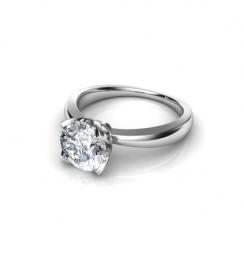 petal diamond ring