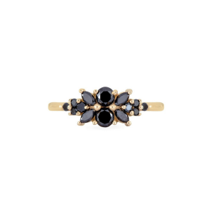 yellow gold antique ring
