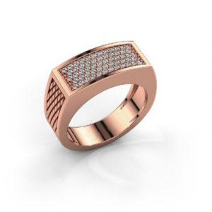 men's rose gold ring